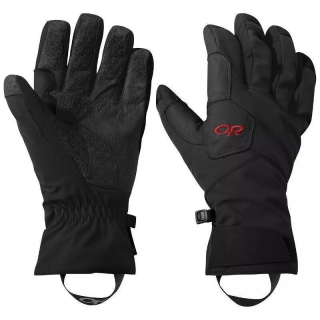 Outdoor Research OR BitterBlaze Aerogel Gloves black/tomato M