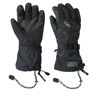 Outdoor Research OR Mens Highcamp Gloves black L