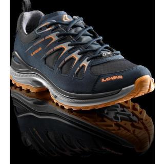 Lowa INNOX EVO GTX LO Ws stahlblau/mandarine< 39 All Terrain Sport Halbschuh für Damen