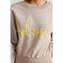 Sweatshirt GOTS, Print: slow