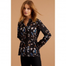 Bluse, Print: Little Flower