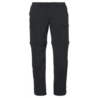 Vaude Mens Farley ZO Pants IV black 46-Short