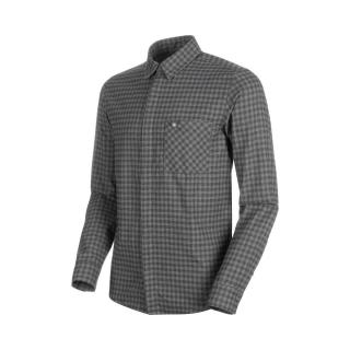 Mammut Winter Longsleeve Shirt Men titanium-phantom L