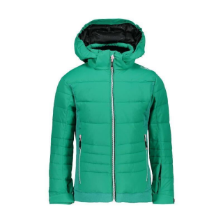 GIRL JACKET SNAPS HOOD MINT 140