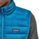 Ms Down Sweater Vest Balkan Blue XL