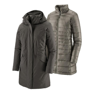 Patagonia Ws Vosque 3-in-1 Parka Forge Grey S