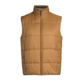 Icebreaker Mens Collingwood Vest 211-TAWNY S
