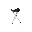 BasicNature Dreibeinhocker Travelchair