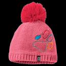 Jack Wolfskin PAW KNIT CAP KIDS coral pink M für Kinder