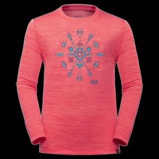 VARGEN LONGSLEEVE KIDS-coral pink-92