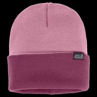 RIB HAT-dusty pink-ONE SIZE (55-59CM)
