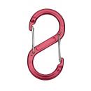 BasicNature Zubehörkarabiner-rot-S-