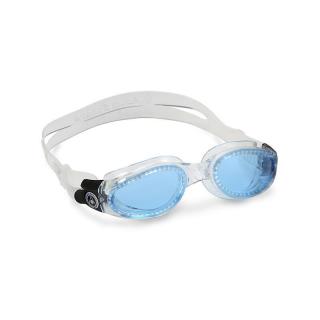 transparent/blue getönt