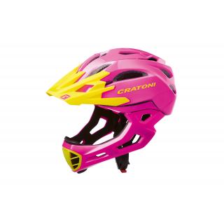 pink-yellow glossy