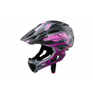 black-pink-purple matt