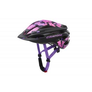 black-pink matt