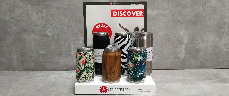 Unsere neuen Dosen von Les Artistes Paris